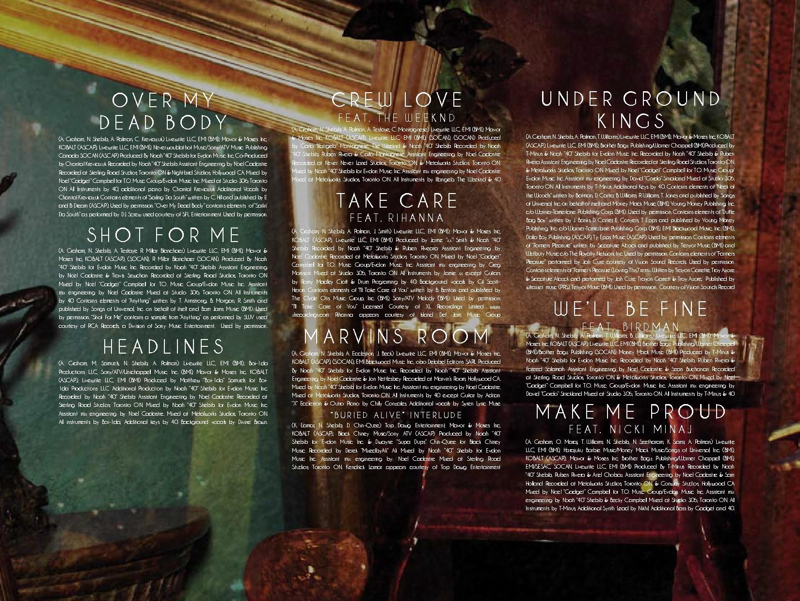 drake take care booklet (4)