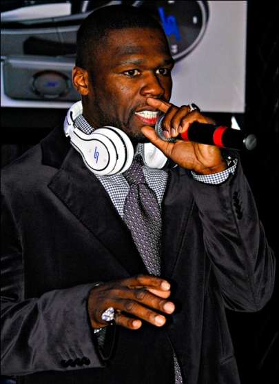50 cent headphone launch