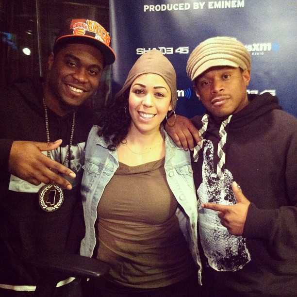 Stopped by sway in the morning show on shade 45 this morning