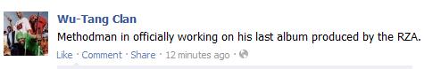 wu tang facebook
