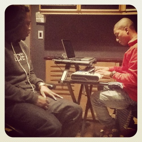 Kendrick Lamar and Pharrell 500x500