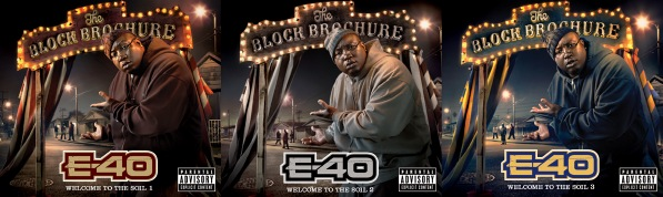 e 40 brochure covers