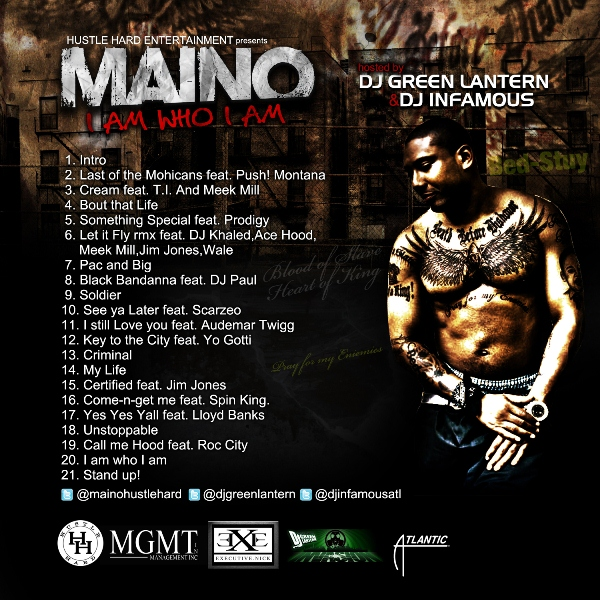 maino i am who i am track list