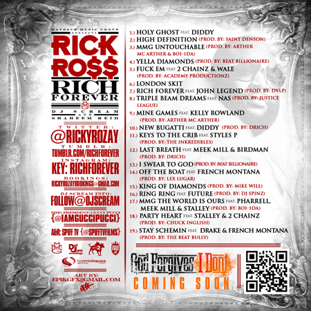 rick ross rich forever tracklist