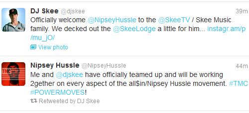 nipsey skee tweets