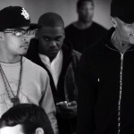 T.I. & Dr. Dre Shooting Video For 'Popped Off'