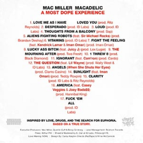 Mac Miller Macadelic back large