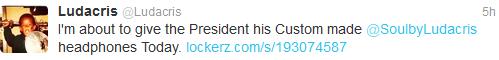 luda president tweet