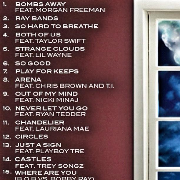 B.o.B – Strange Clouds (Album Cover & Track List)   HipHop ...