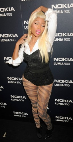 Nicki+Minaj+Celebs+Lumia+900+Launch+w Tc8Tc6DSbl 256x500