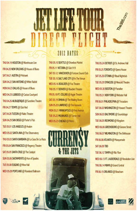 currensy tour