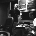 In The Studio: Mike Posner & Pharrell Work On New Music (Video)