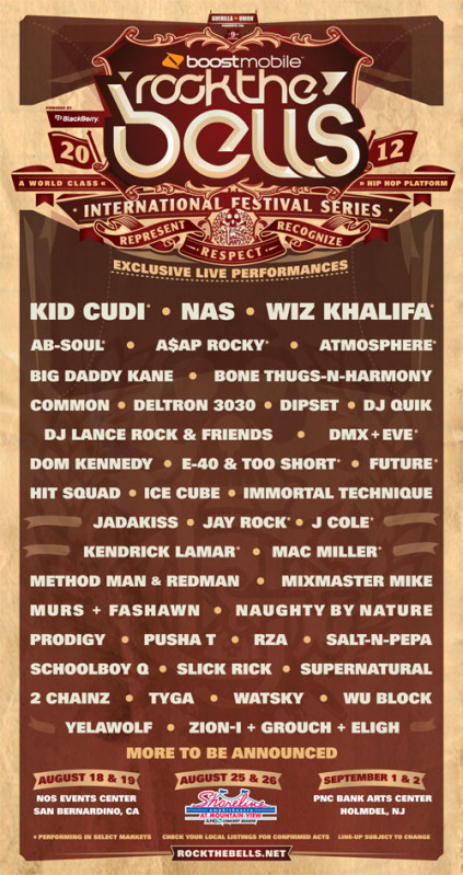 rock the bells 2012 revised