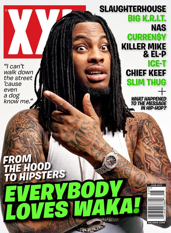 Waka Flocka Flame Covers XXL (June 2012) | HipHop-N-More