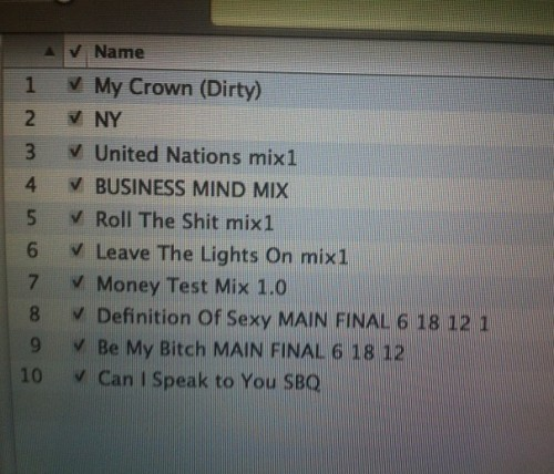 50 cent 5 murder by numbers tracklist 500x428