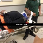 50 Cent Injured In Car Accident In NYC
