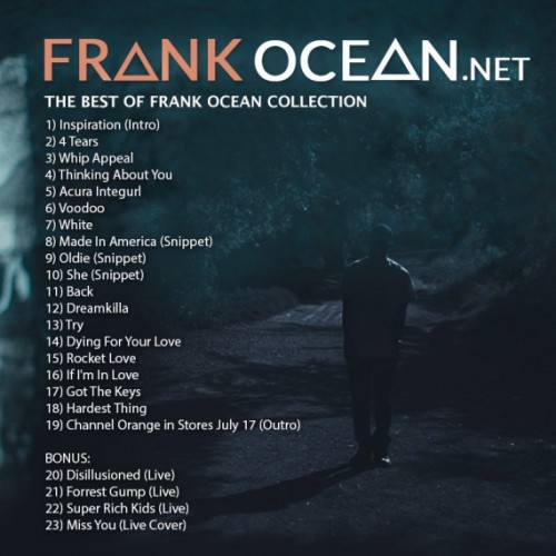 The Best Of Frank Ocean Collection back 500x500