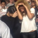 Kanye West Stage Dives + Beyonce & Kim Kardashian Attend Mosh Pit At Watch The Throne Concert In Birmingham