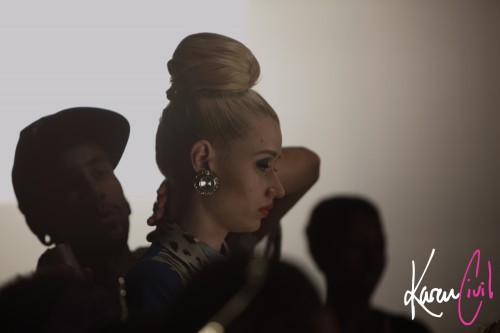 iggy murda bizness shoot 1 500x333