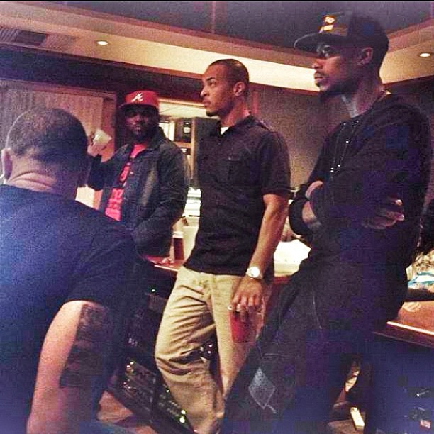 > B.o.B Joins The T.I. & Jeezy Session - Photo posted in The Hip-Hop Spot | Sign in and leave a comment below!
