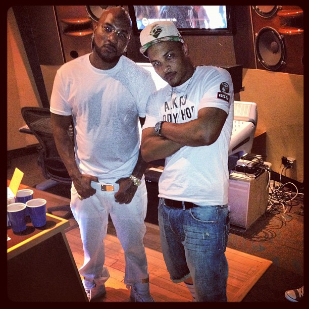 Young Jeezy Hits The Studio With Ryan Leslie, T.I. & B.o.B ...