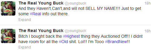 buck auction tweet