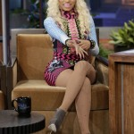 Nicki Minaj Performs 'Pound The Alarm' On Jay Leno