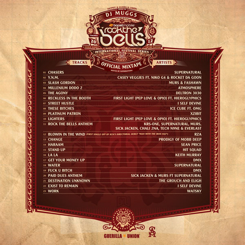 rock the bells 2012 mixtape back