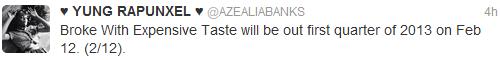azealia release date