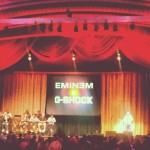 Eminem & Slaughterhouse Perform At G-Shock's 30th Anniversary Show In NYC