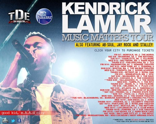 kendrick lamar tour dates 500x398
