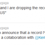 Lady Gaga Announces Kendrick Lamar Collaboration For His Debut Album
