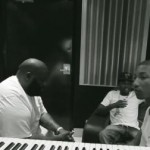 In The Studio: Rick Ross & Pharrell Work On 'Presidential' (Video)