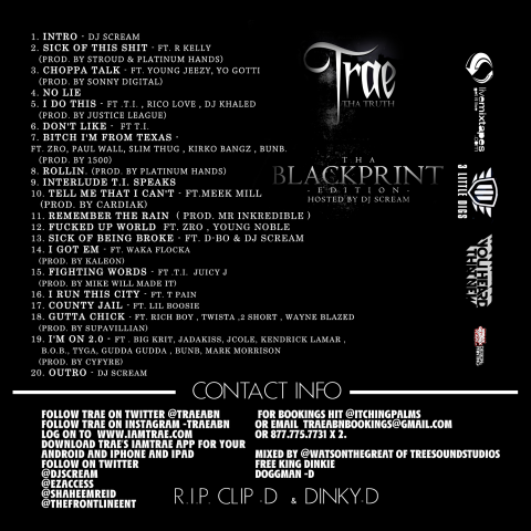 trae the blackprint back