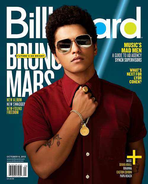 bruno mars billboard