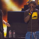 Lil Wayne Brings Out Keyshia Cole At iHeartRadio Fest In Las Vegas