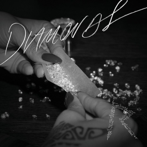 rihanna diamonds artwork 500x500