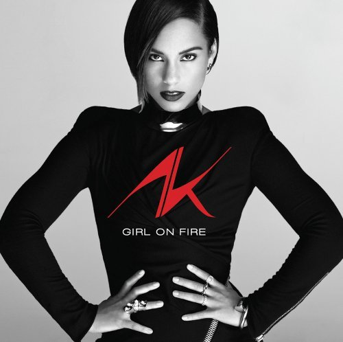 alicia keys girl on fire artwork