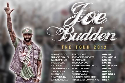 joe budden tour