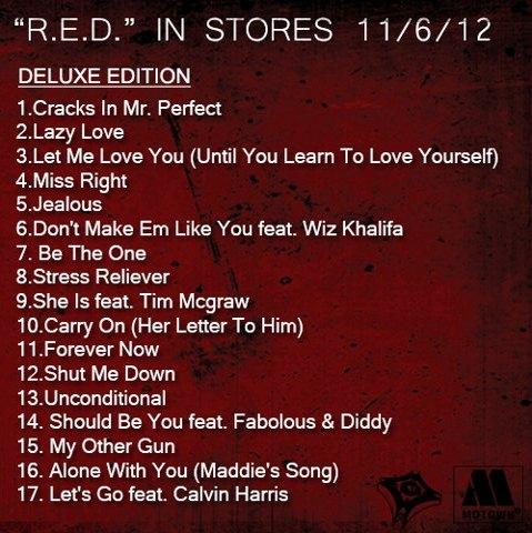 ne yo red tracklist