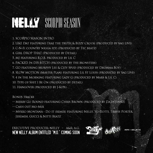 nelly scorpio season back