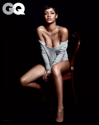 rihanna gq shoot photos 1