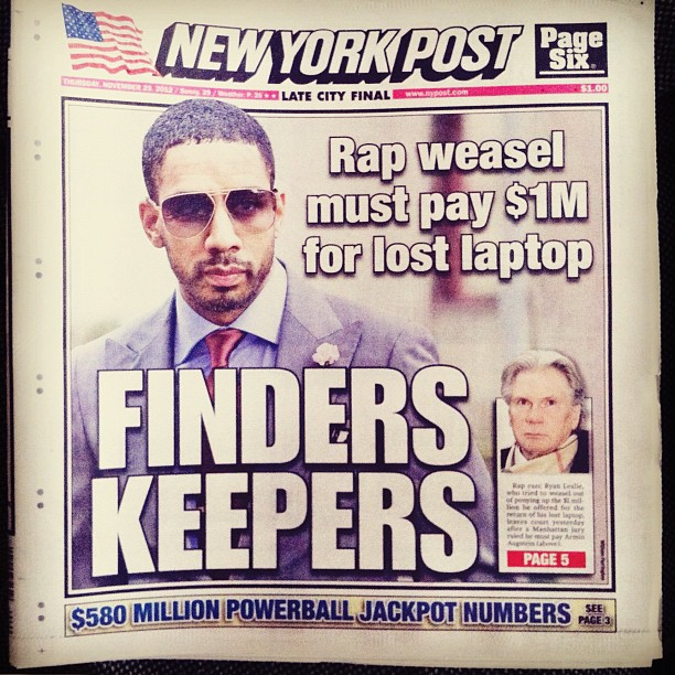 ryan leslie new york post