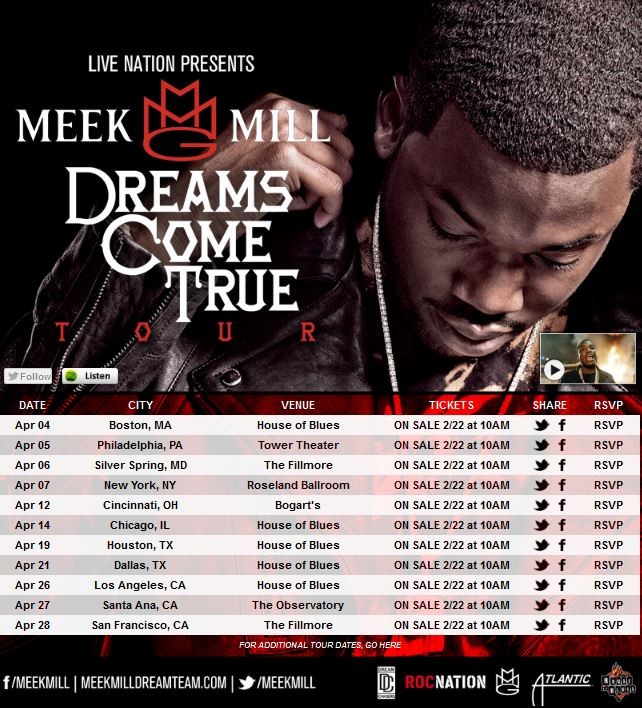 meek mill tour
