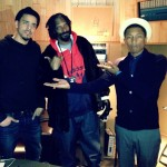 Pharrell Hits The Studio With J. Cole, Snoop Dogg, Nelly, T.I. & B.o.B (Photos)