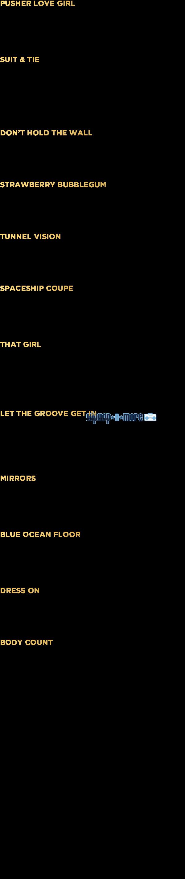 JT credits