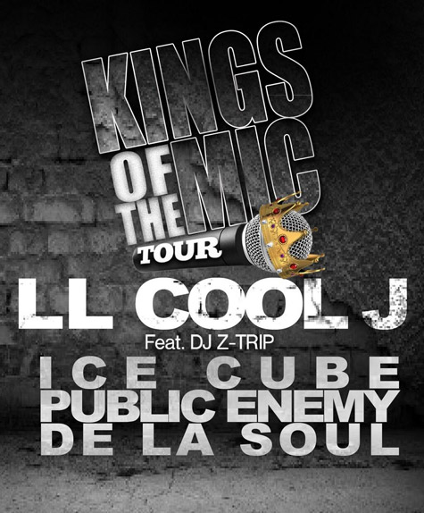 ll cool j kings of the mic tour