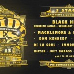 paid dues 2013 lineup 500x264 150x150