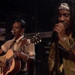 Wale & Tiara Thomas Perform 'Bad' On Jimmy Fallon