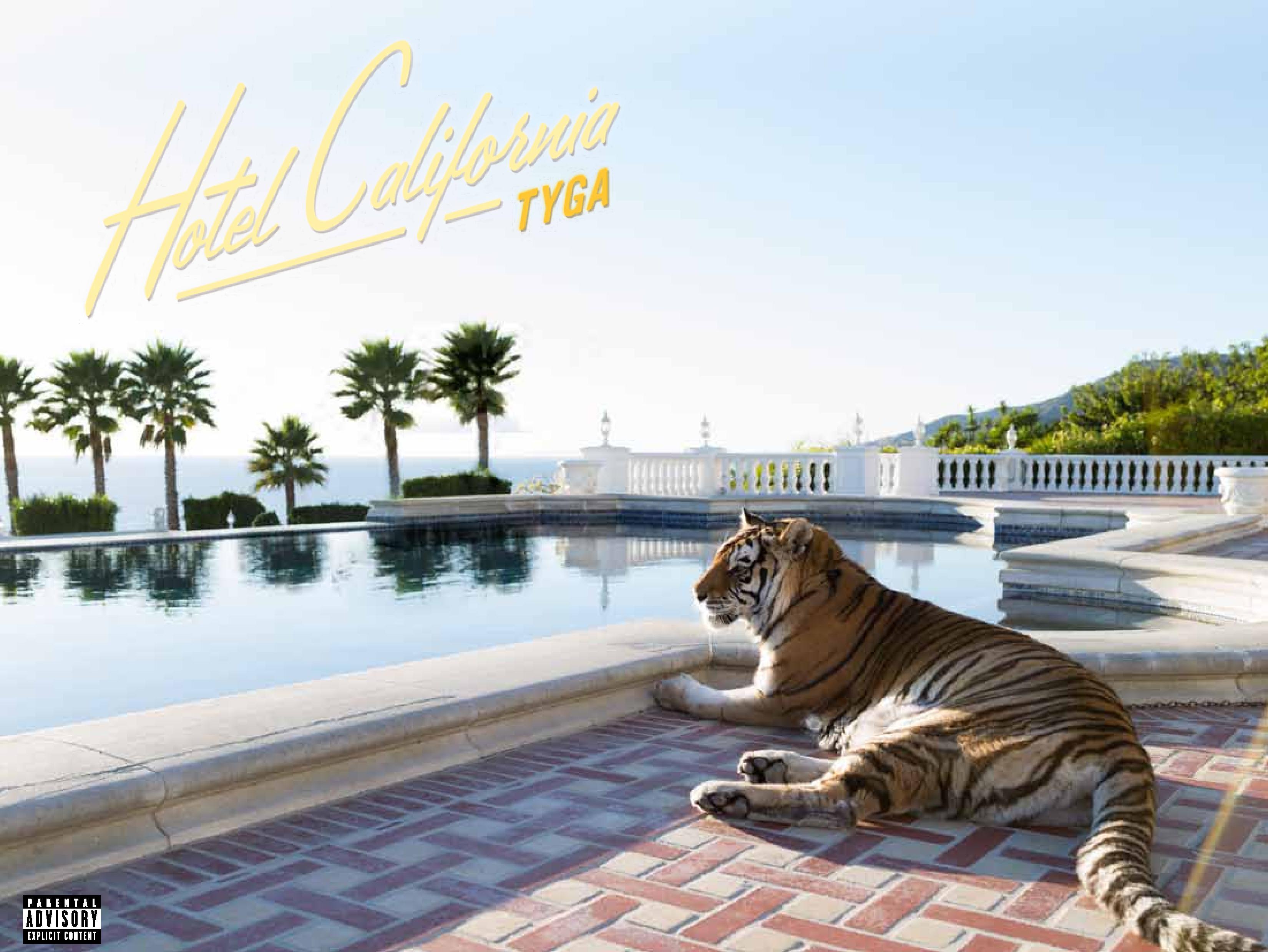 Tyga hotel california booklet production credits for Hotel california